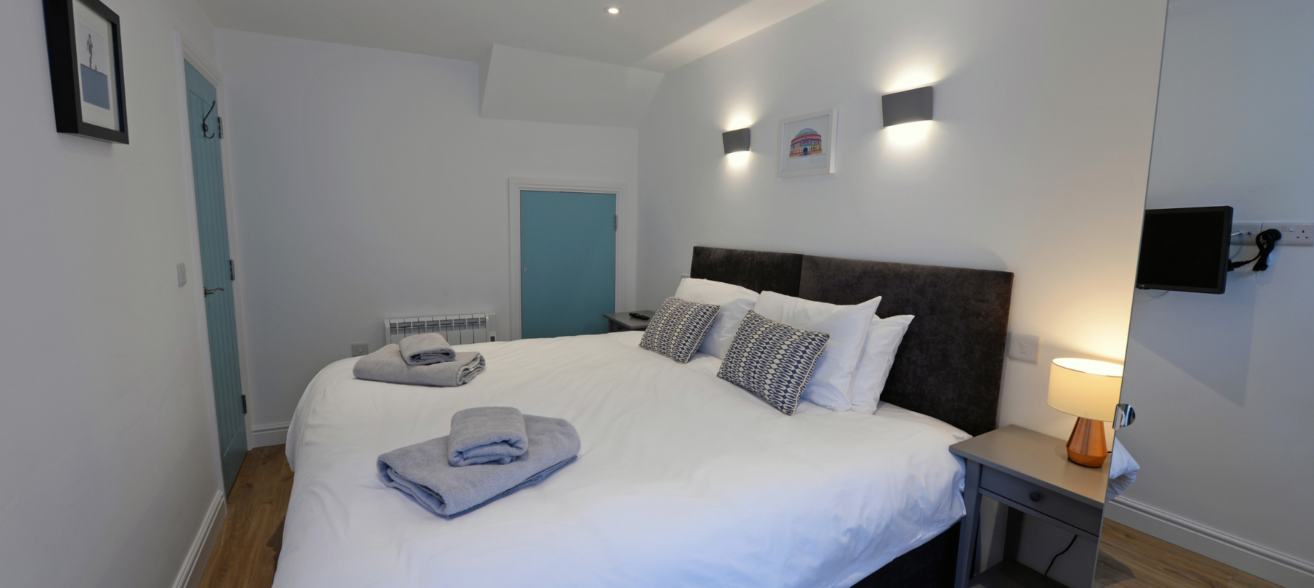 Beauchief House 1 Tenby luxury self catering apartment holiday cottage