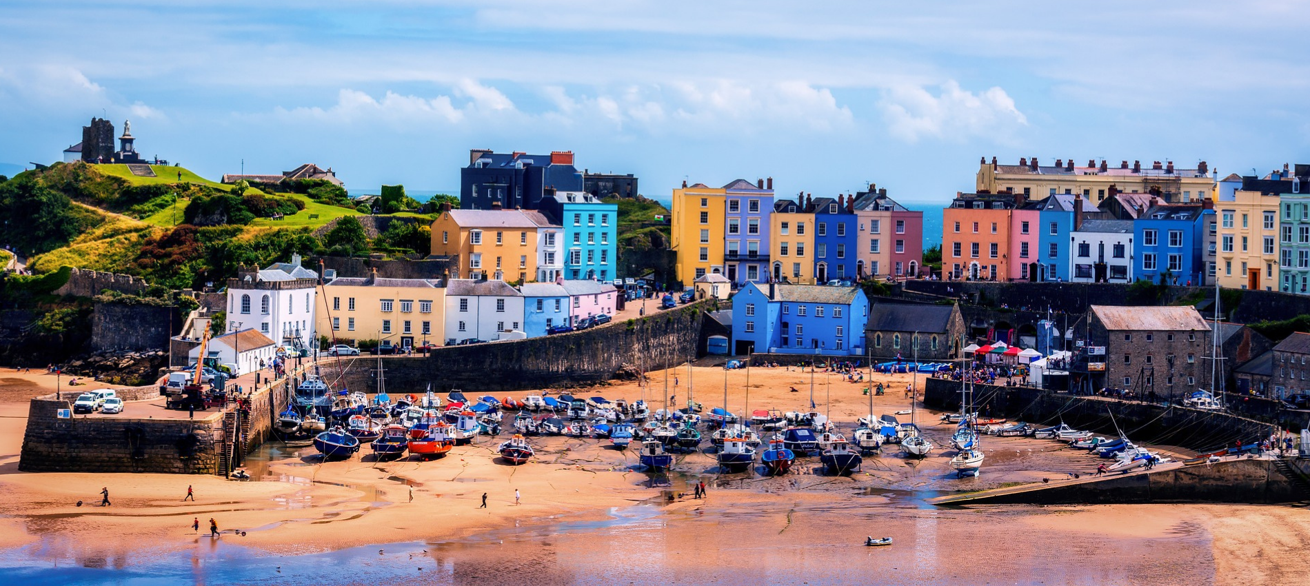 Tenby Harbour Pembrokeshire Beauchief House 1 Tenby luxury self catering apartment holiday cottage